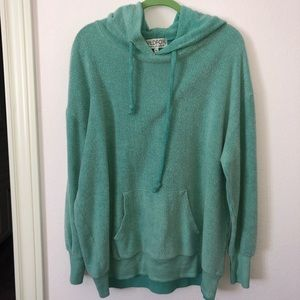 Wildfox Turquoise Hoodie size M